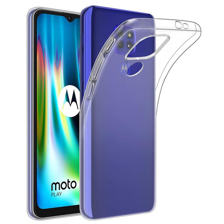 Motorola Moto G9 & G9 Play 'Clear Gel Series' TPU Case Cover - Clear