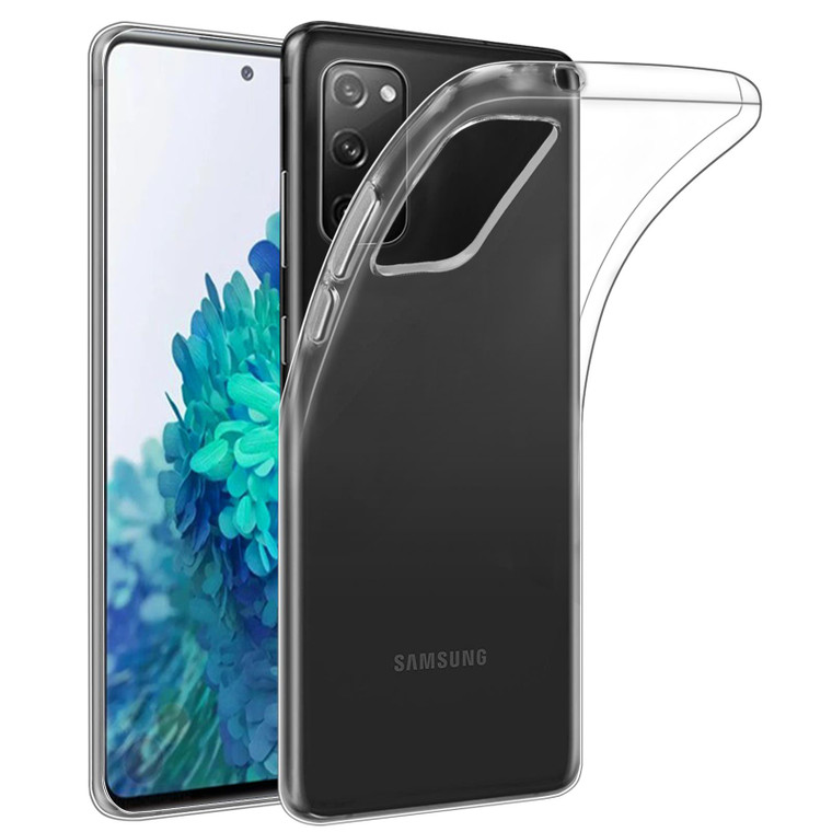 Samsung Galaxy S20 FE 5G (Fan Edition) 'Clear Gel Series' TPU Case Cover - Clear