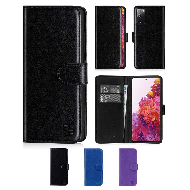 Samsung Galaxy S20 FE 5G (Fan Edition) 'Book Series' PU Leather Wallet Case Cover