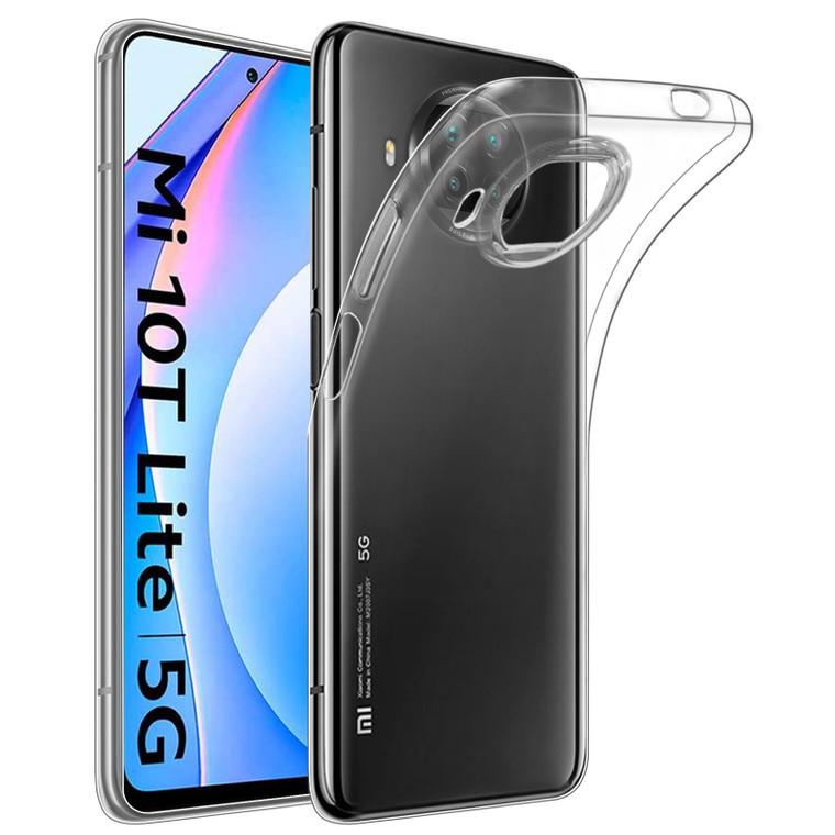 Xiaomi Mi 10T Lite / Mi 10i 5G / Redmi Note 9 Pro 5G 'Clear Gel Series' TPU Case Cover - Clear