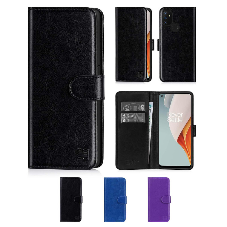 OnePlus Nord N100 'Book Series' PU Leather Wallet Case Cover