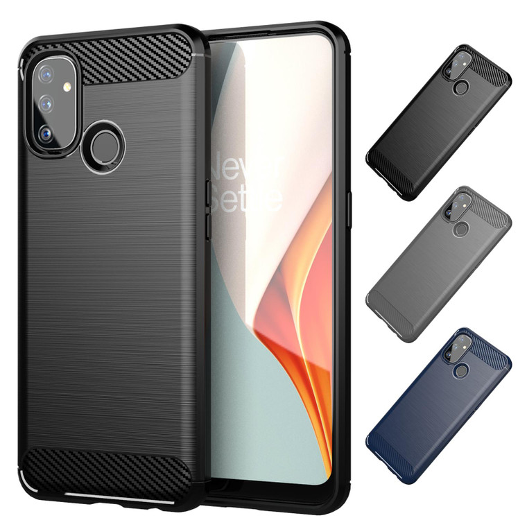 OnePlus Nord N100 'Carbon Series' Slim Case Cover