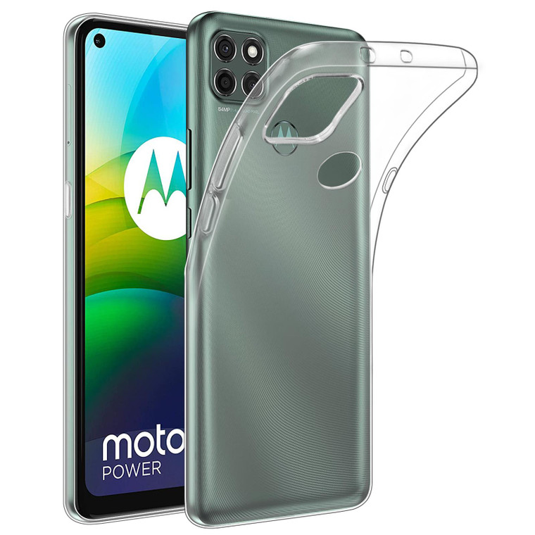 Motorola Moto G9 Power 'Clear Gel Series' TPU Case Cover - Clear