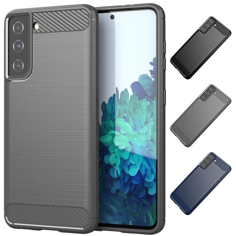 Samsung Galaxy S21 'Carbon Series' Slim Case Cover