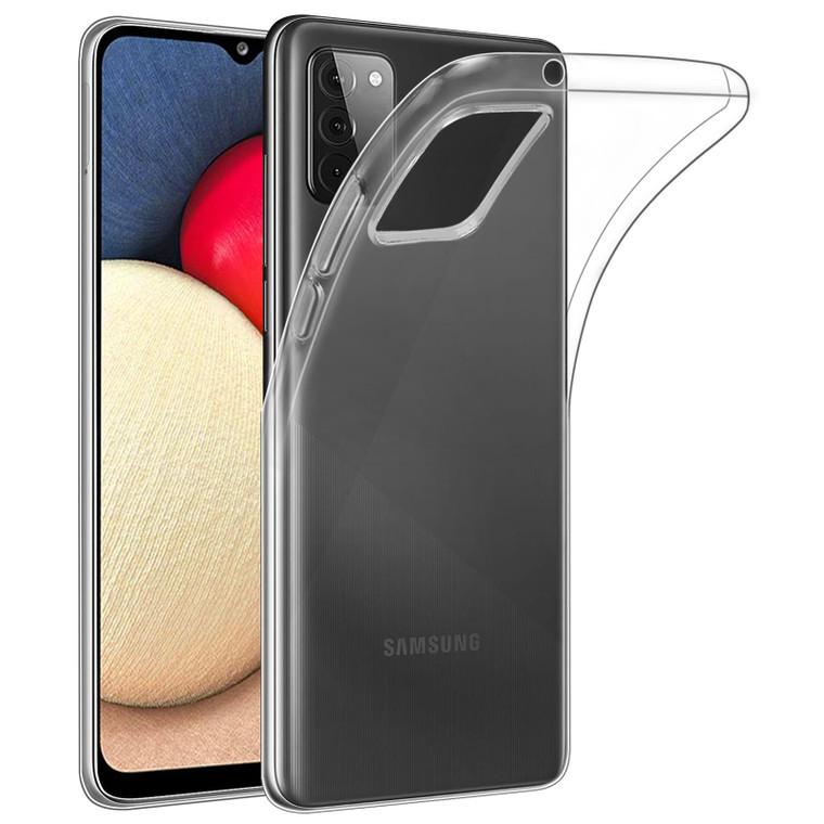 Samsung Galaxy A02S 'Clear Gel Series' TPU Case Cover - Clear