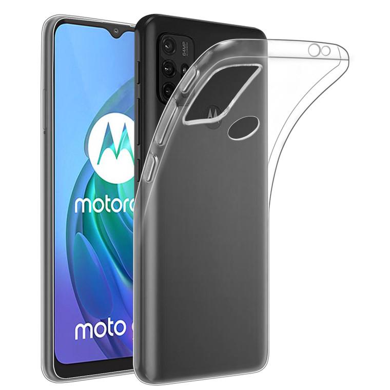 Motorola Moto G10, Moto G20 & Moto G30 'Clear Gel Series' TPU Case Cover - Clear