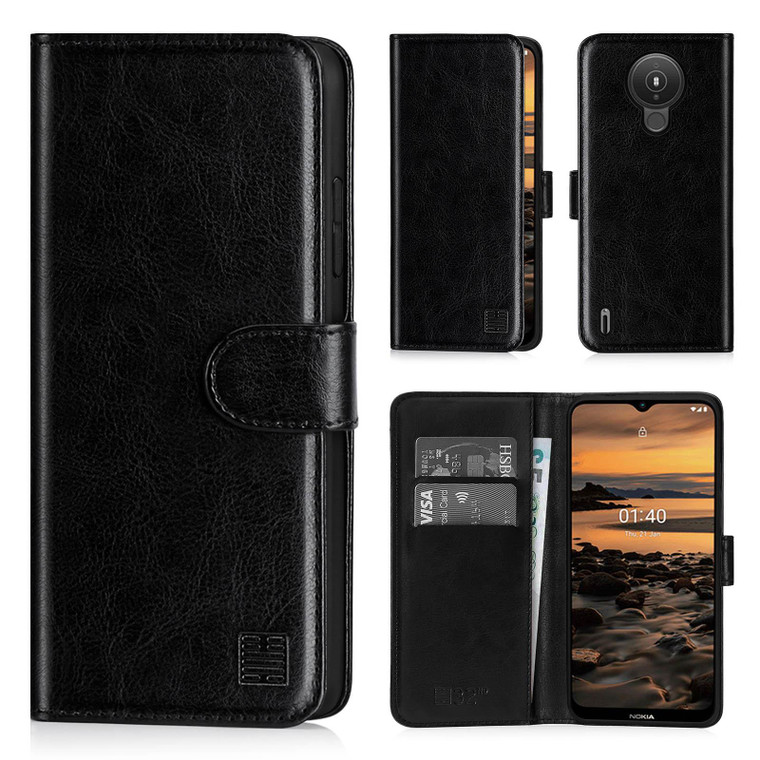 Nokia 1.4 'Book Series' PU Leather Wallet Case Cover