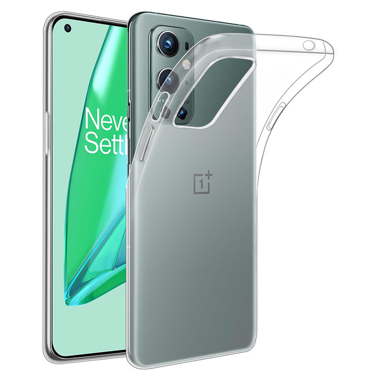 OnePlus 9 Pro 'Clear Gel Series' TPU Case Cover - Clear