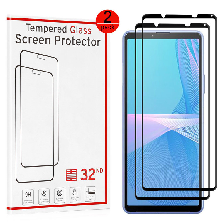 Sony Xperia 1 III (2021) Tempered Glass Screen Protector - 2 Pack