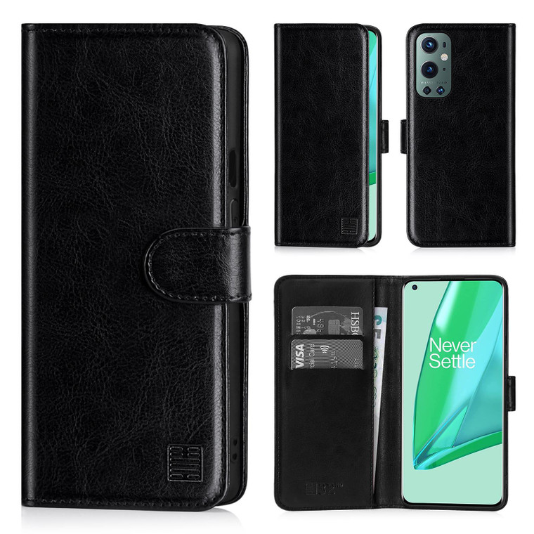 OnePlus 9 Pro 'Book Series' PU Leather Wallet Case Cover