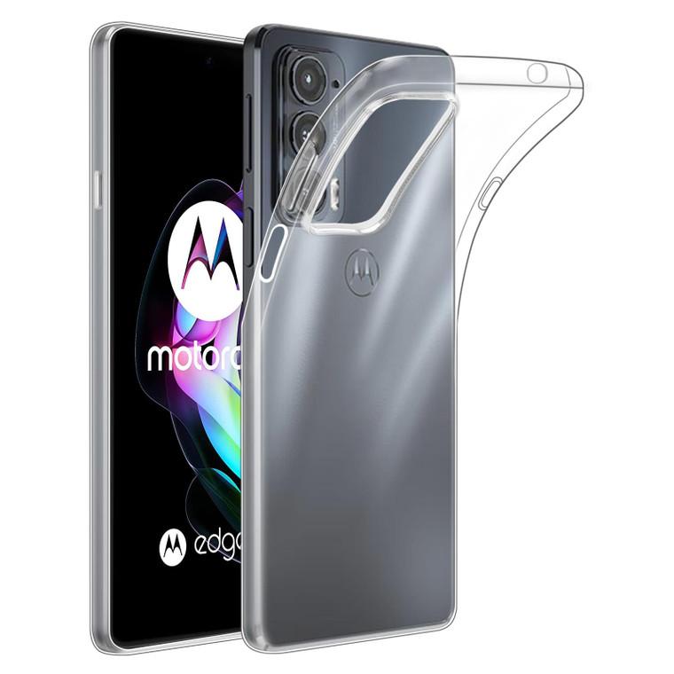 Motorola Moto Edge 20 'Clear Gel Series' TPU Case Cover - Clear