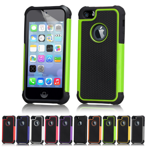 reputable site fd7f5 5a6da Apple iPhone 5/5S Dual-Layer Shockproof Case