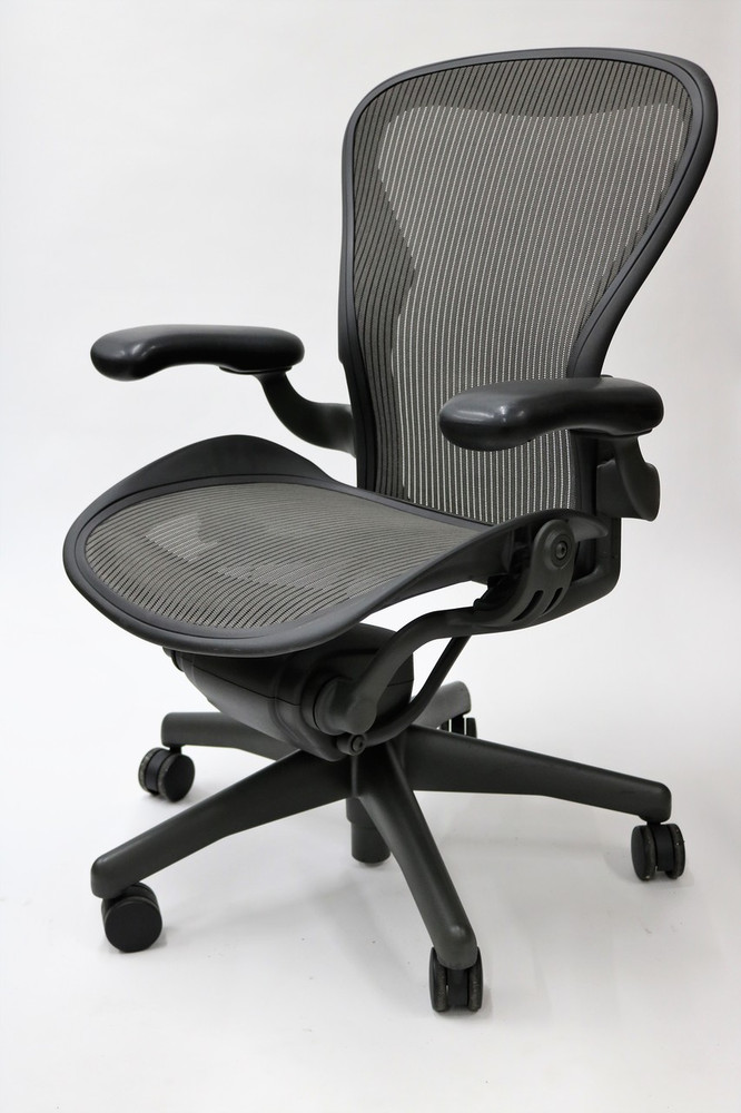 Herman Miller Aeron Chair Basic Size B (or C) Gray