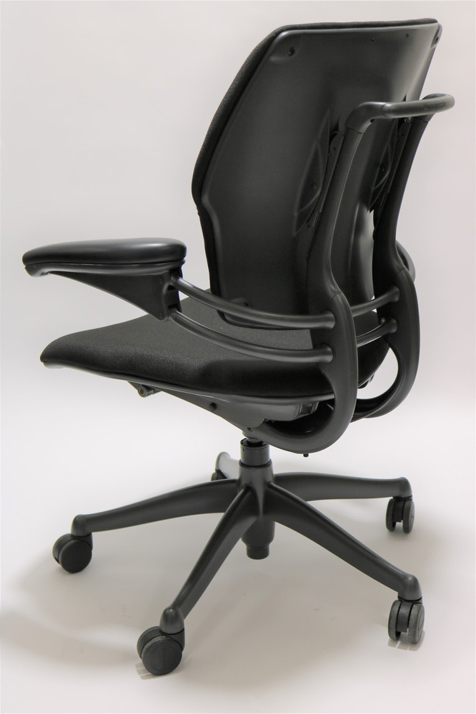 Humanscale Freedom Chair Fully Adjustable Model Black Fabric