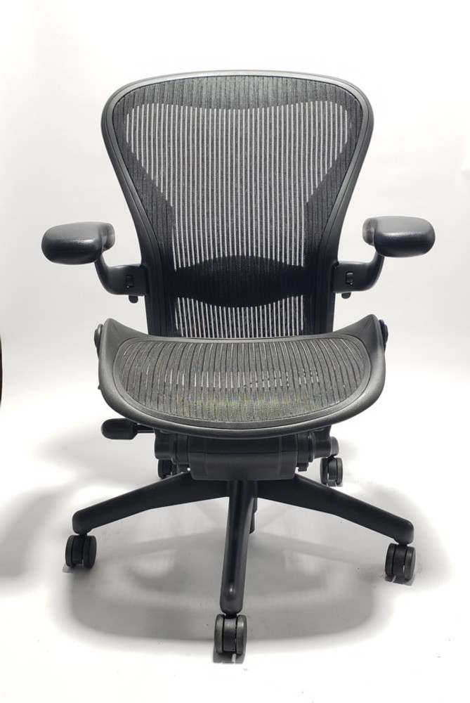 new style ca32d 1bd75 Herman Miller Aeron Chair Fully Featured Size B (or C)