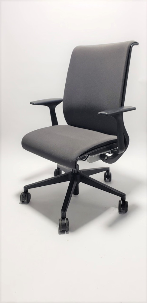 Steelcase Think Chair Charcoal Gray Fabric
