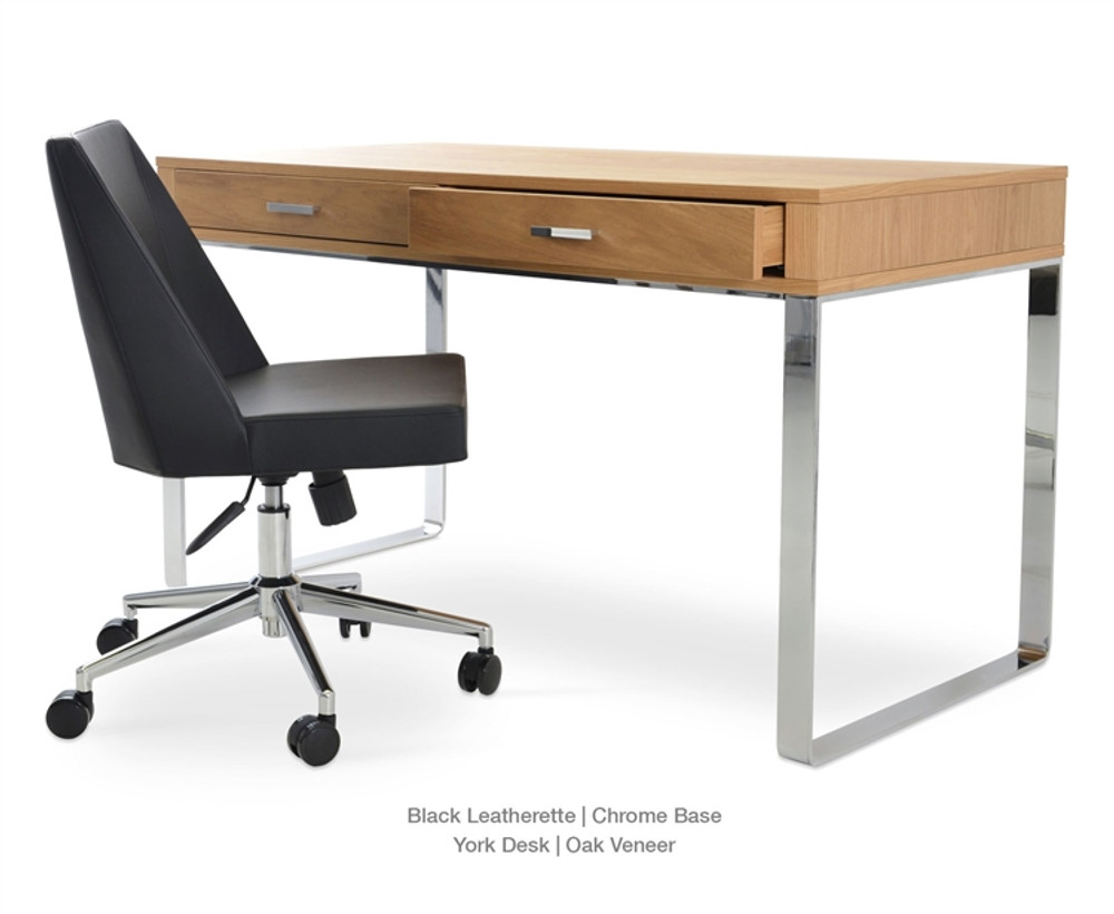 Soho Concept Prisma Office Chair in Leatherette