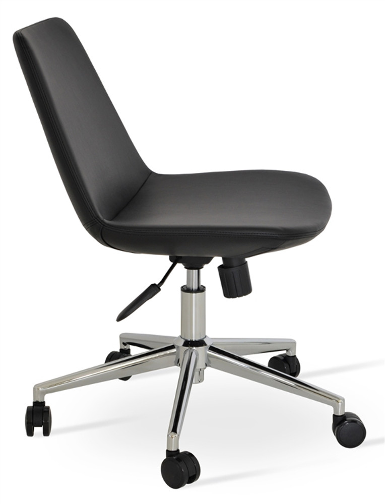 Soho Concept Eiffel Office Chair in Leather