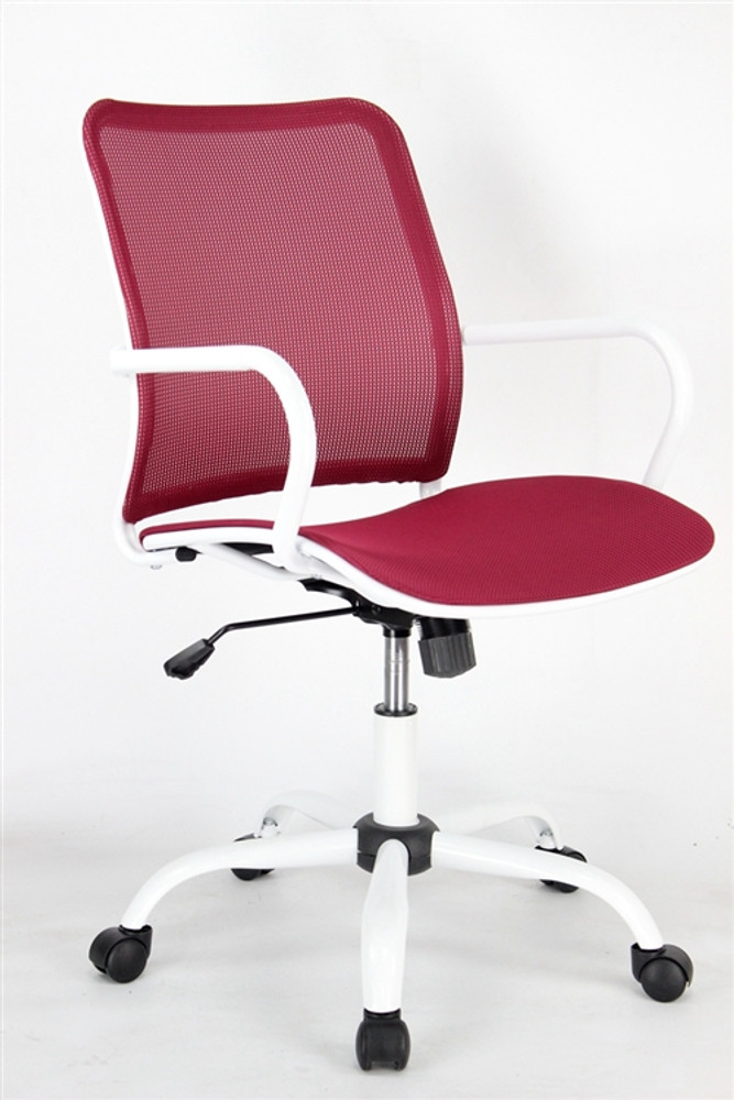 Spare Office Chair, Red by Fine Mod