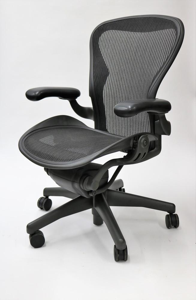 Herman Miller Aeron Chair Basic Size B (or C) Black