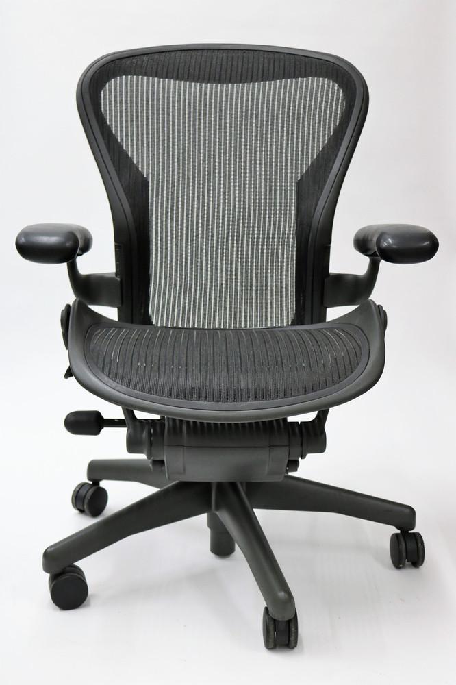 Fabulous Herman Miller Aeron Chair Basic Size B Or C Black Forskolin Free Trial Chair Design Images Forskolin Free Trialorg