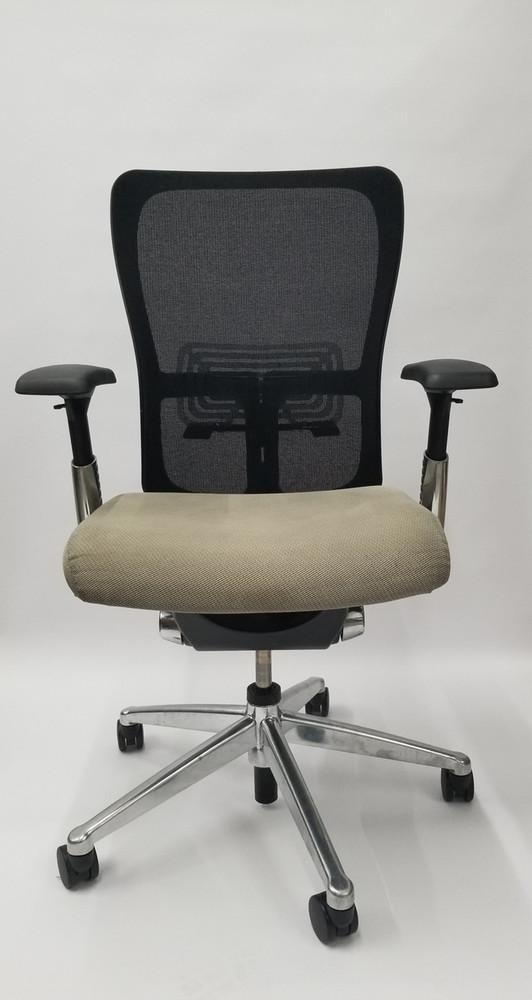 Haworth Zody Chair Mesh Back In Polished Base