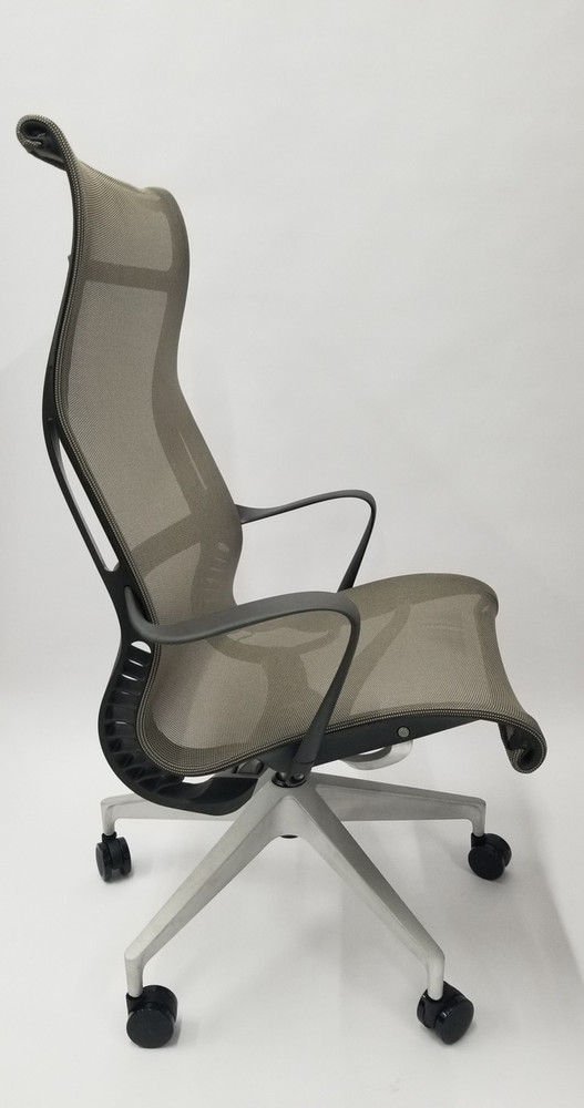 Refurbished Herman Miller Setu Lounge Chair with Casters