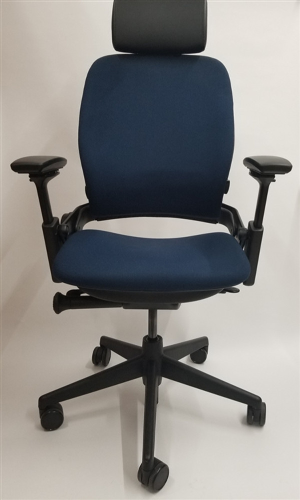 Bulk Lot Deal 100 Steelcase Leap Chairs V2 In Fabric in Black