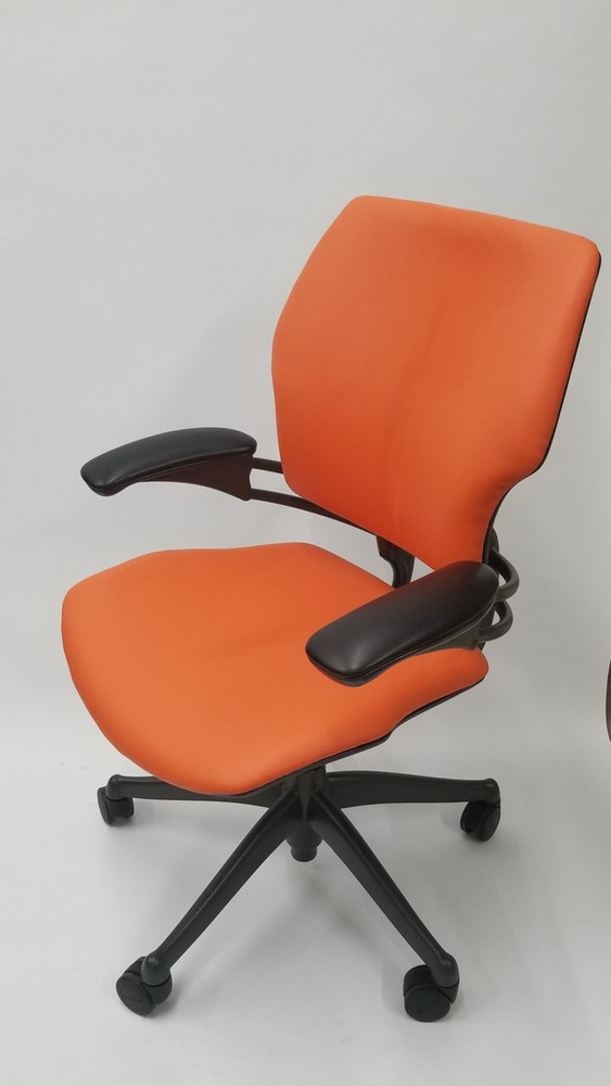 Humanscale Freedom Chair Fully Adjustable Model Orange
