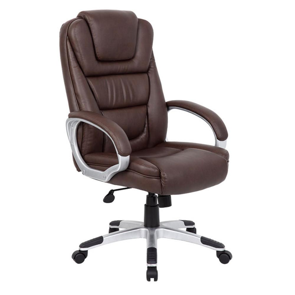 "Boss ""NTR"" Executive LeatherPlus Chair B8601-BB"