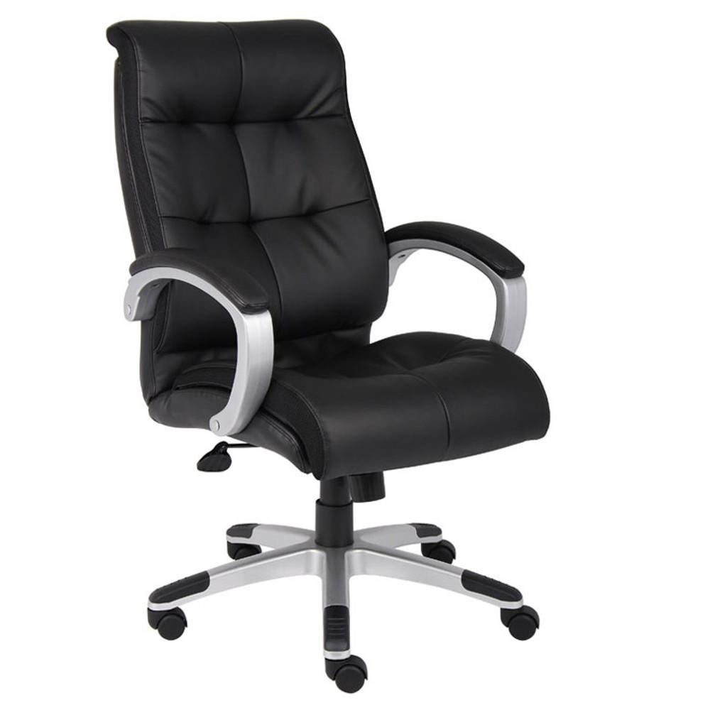 Boss Double Plush High Back Executive Chair B8771S-BK