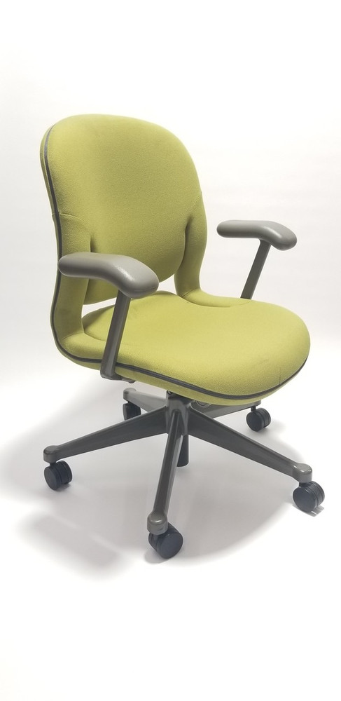 big sale 57db3 82d3f Herman Miller Equa Chair Lime Fabric