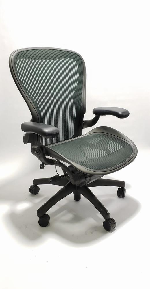 Herman Miller Aeron Chair Basic Size C Jade Green