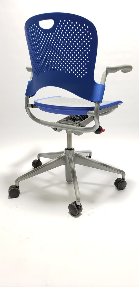 Refurbished Herman Miller Caper Chair in Blue