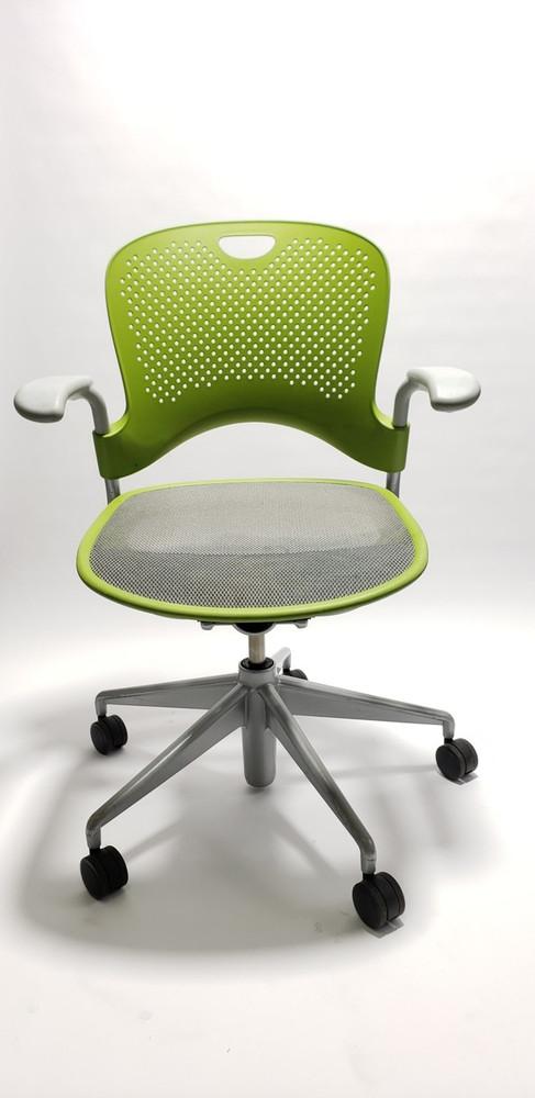 Herman Miller Caper Chair in Green