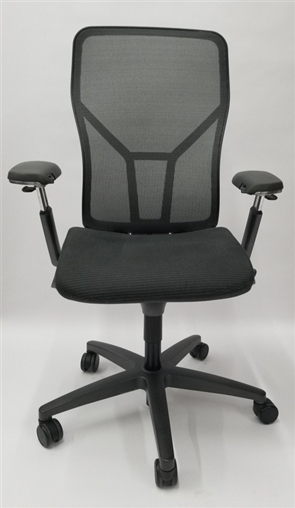 Bulk Lot 100 Allsteel Acuity Chairs, Fully Loaded, + Fully Adjustable Arms