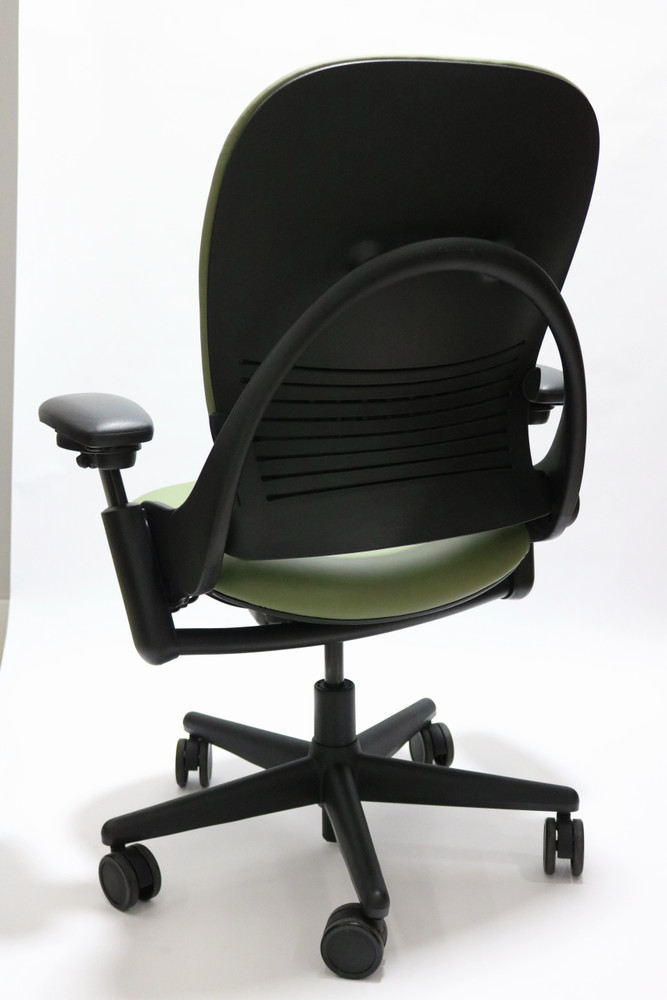 Steelcase Leap Chair Mint Green Leather