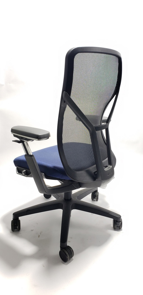 Allsteel Acuity Chair, Highly Adjustable Model Navy Seat