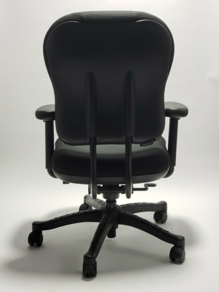 Knoll RPM Chair Fully Adjustable Model in Black Fabric