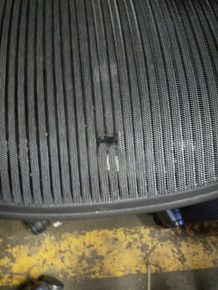 Herman Miller Aeron Chair With a Damaged Mesh Size B or Size C