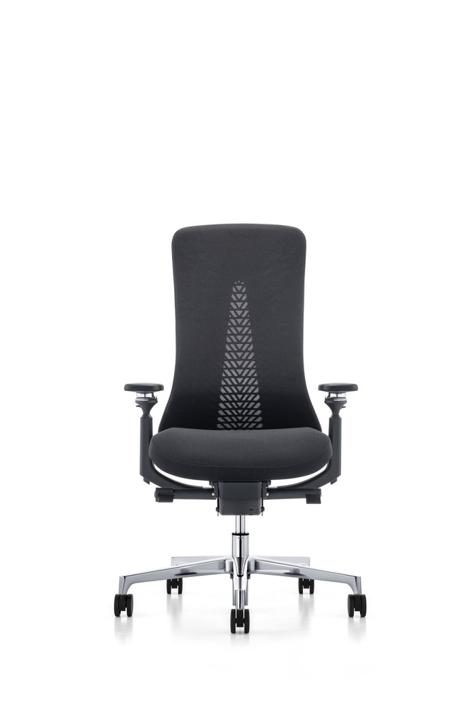 Lemoderno Aeroma Chair Fully Adjustable Model 4-D Arms - Lumbar Support