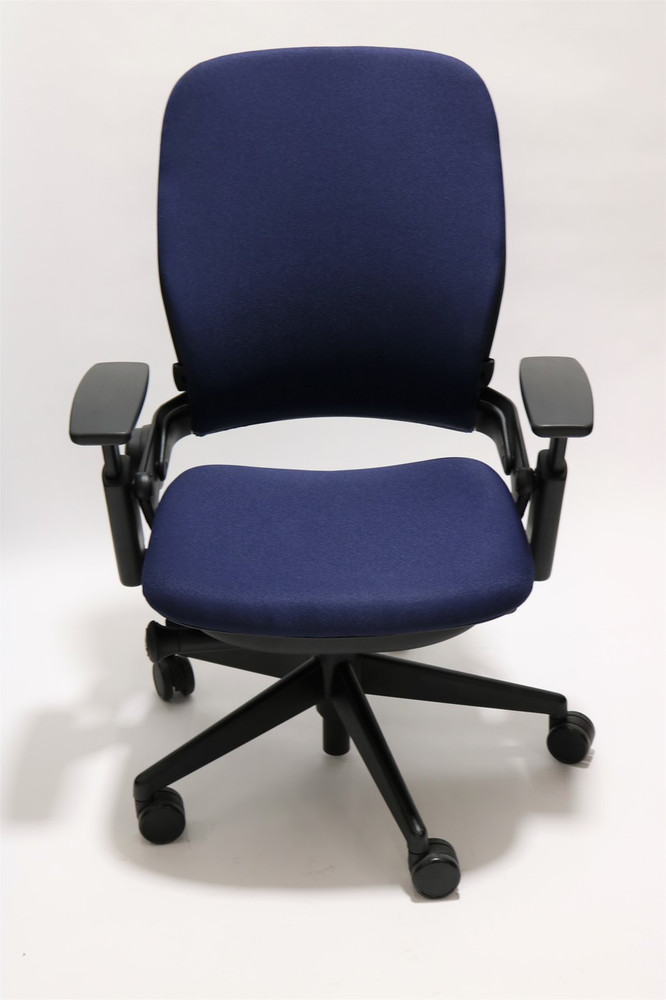 Steelcase Leap Chair V2 Navy Fabric