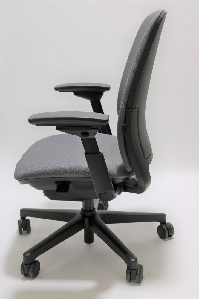 Steelcase Amia Chair Fully Adjustable Model Gray Fabric