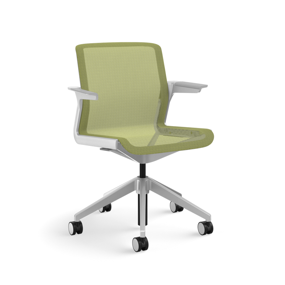 Refurbished Allsteel Clarity Chair Lime Mesh