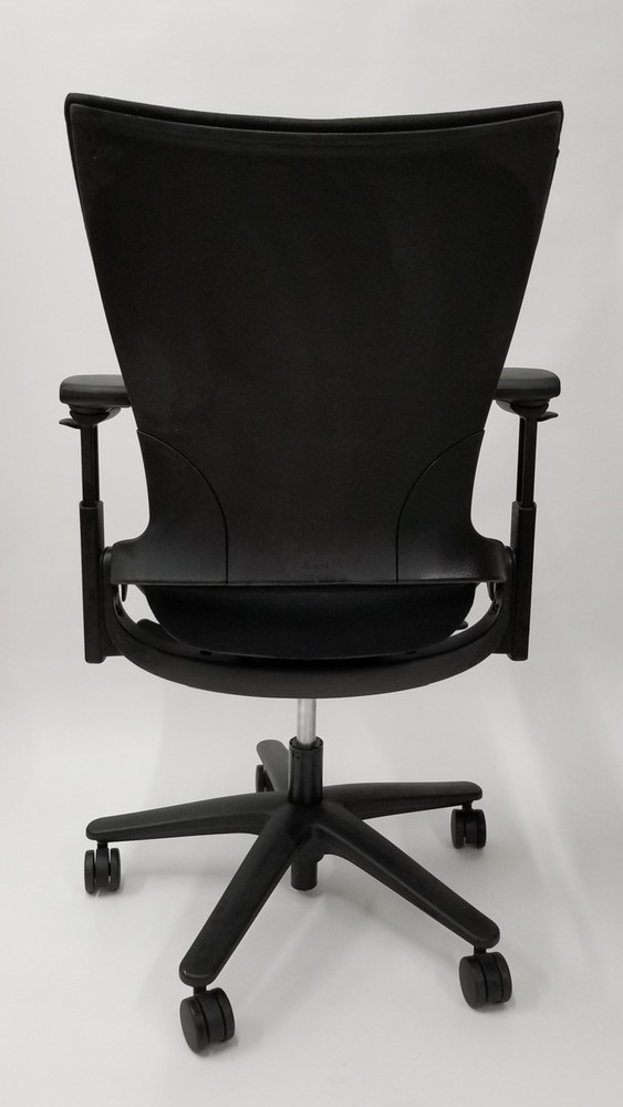 Sum Chair by Allsteel Office Task Chair Black Fabric
