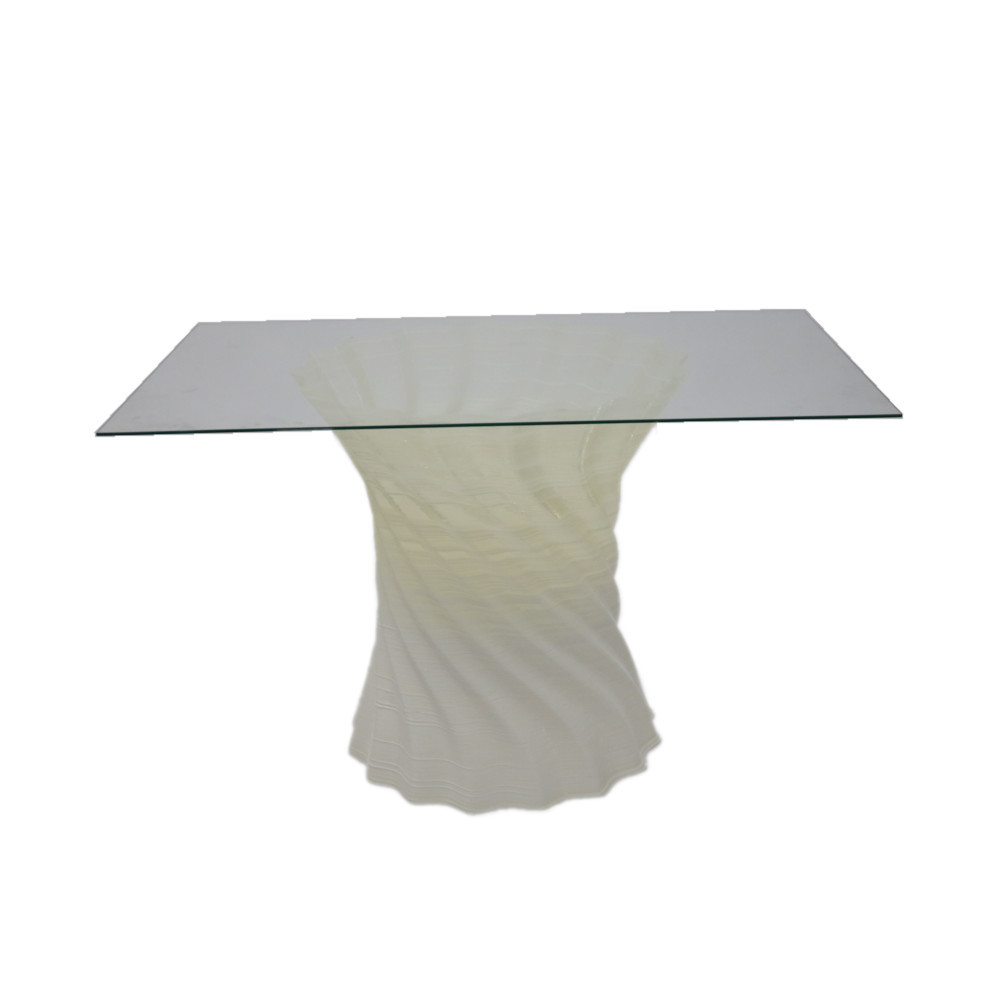 Crawl Dining Table Square Glass By ModernPeek
