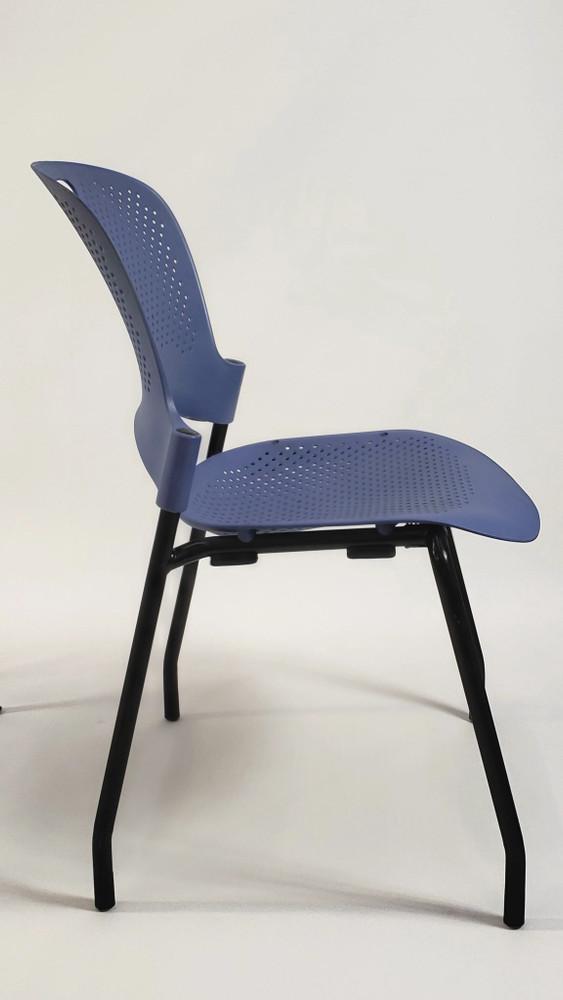 Herman Miller Caper Side Chair in Blue