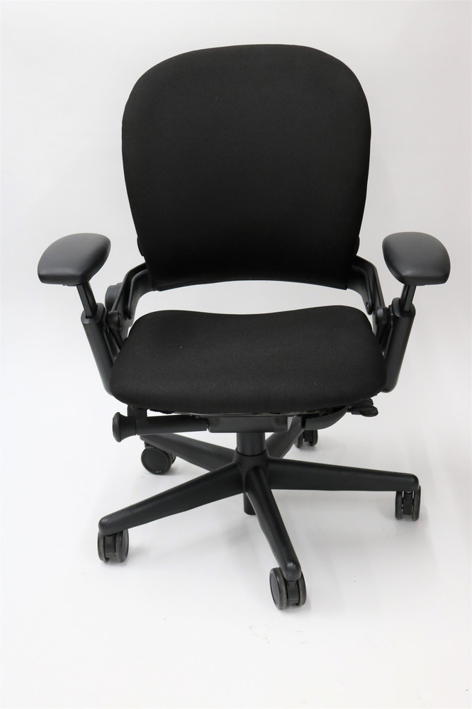 Bulk Lot 100 Leap Chair by Steelcase In Black Fabric Corporate Deal