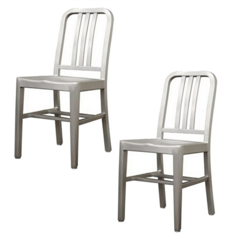 Cafe Dining Chairs Set of 2 by Fine Mod