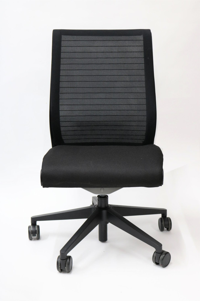Steelcase Think Work Chair in Mesh Back and No Arms